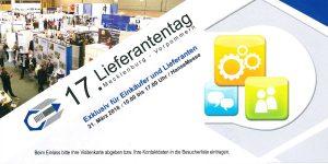 Broschüre Lieferantentag