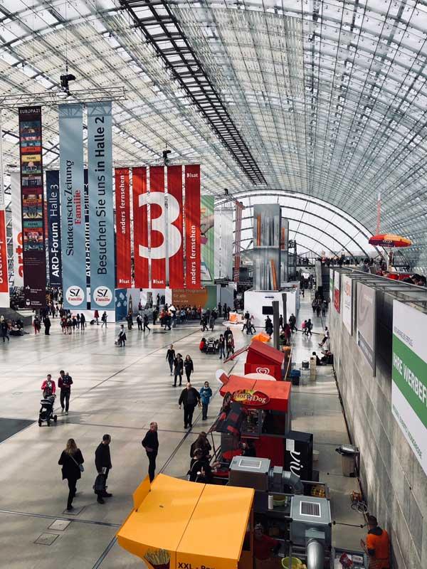 Leipziger Buchmesse 2018 Halle